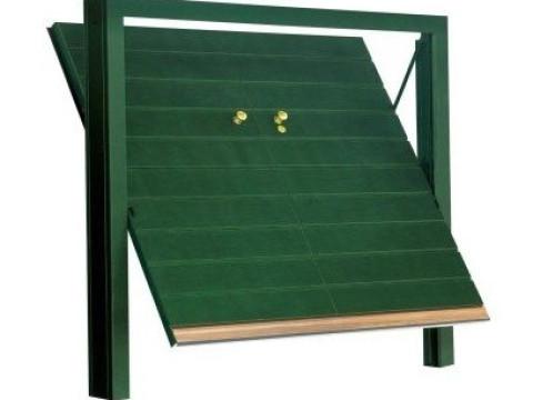 porta basculante in legno linea STYLEGNO modello quadro