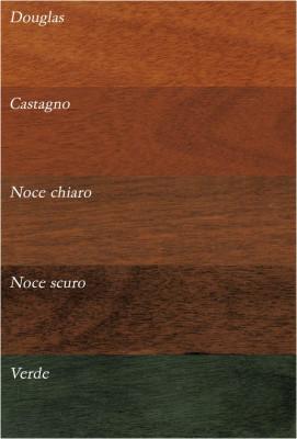 basculanti in legno: tinte e colori OKOUME'