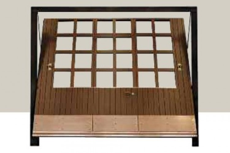 basculante in legno finestrature