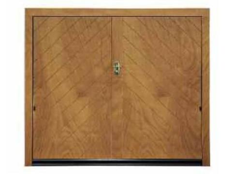 porta basculante in legno linea STYLEGNO modello lisca