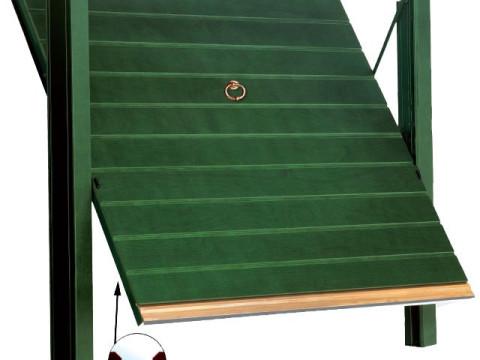 porta basculante in legno linea STYLEGNO modello orizzont-classic
