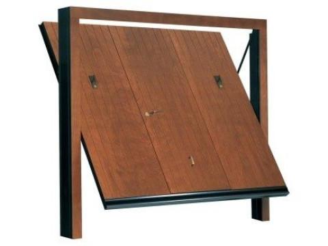 porta basculante in legno linea STYLEGNO modello vertical