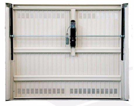 porta basculante anti-ladro