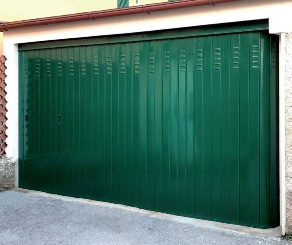 porta basculante di sicurezza anti effrazione a Brescia